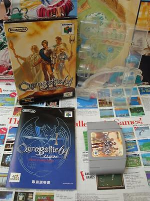 Nintendo 64 N64:Ogre Battle 64 [TOP RPG QUEST & 1ERE EDITION] COMPLET - Jap comprar usado  Enviando para Brazil