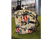 Elvis hold-all/wheeled bag /wheel hold-all /weekend trolley