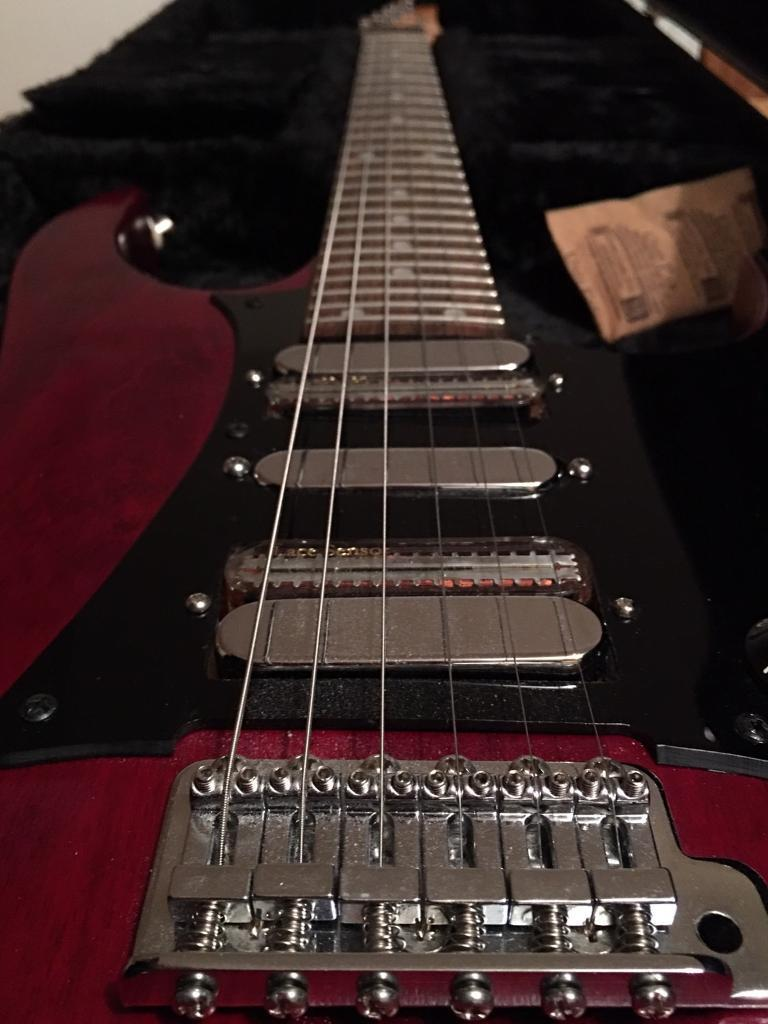 Ibanez Super Strat Electric Guitar, Lace Sensor Pickups (HSH) with ...