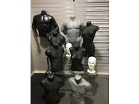 Selection of mannequins for sale £25 each Collect from Newton Mearns