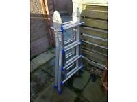 Heavy duty multipurpose ladder