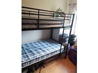 Metal bunk beds from Argos