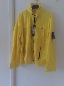 Yellow Stone Island Membrana Jacket