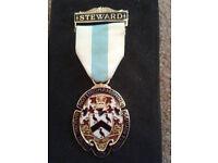 Nottinghamshire Masons Masonic Badge.