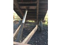 Farm tipping trailer, suit horse stables or yard.