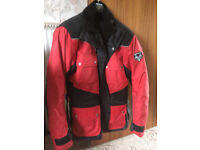 Hardly Used FRANK THOMAS Motorcycle Jacket