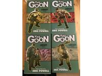 The Goon Library editions