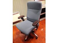 Comfortable Office Chair with durable fabric, very little used
