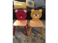 John Lewis children's animal chairs
