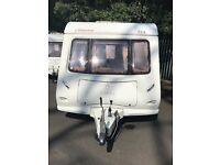Elddis odyssey 4 berth fixed bed touring caravan