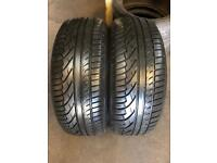 2 PW 215 55 16(93W) Michelin Pilot Primacy Extra Load Tread 5.5mm-6.5mm