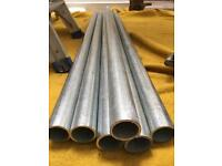Scaffold tube and couplers