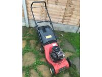 Sovereign Petrol Lawnmower With Grass Box Fully Working