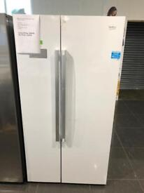 new beko american fridge freezer - 1 year warranty