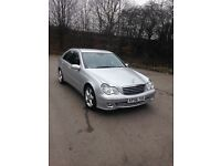 Mercedes, C-Class, C220 CDI, fully loaded, automatic with rare paddle shift