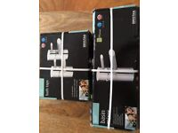 New unopened Bristan bath and basin taps