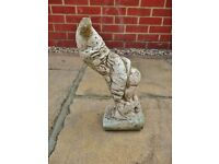 Weighty Stone Cheeky Gnome Garden Ornament Decoration Figure