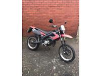 Dirby sender 50cc Cbt learner legal. Not 125cc 125