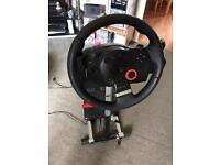 Logitech Driving Force GT and Wheel Stand Pro V2