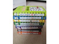 9 Books - Diary of a wimpy kid collection