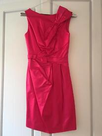 Hot pink Karen Milen evening dress