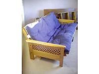 Futon sofa bed as new