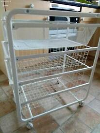 Steel Kitchen Trolley
