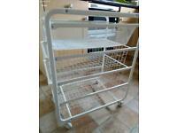 Steel Kitchen Trolley