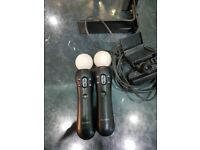 Playstation move controllers ps3/ps4