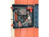 BOSCH 14.4v HEAVY DUTY DRILL WITH BATTERIES