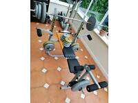 Gym bench lot for sale