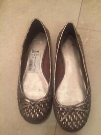 Clark's woman shoes.
