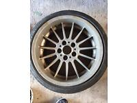 """18"""" bmw alloy wheel and tyre"""