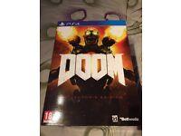 Doom PS4 Collectors Edition