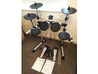 Electric drum kit. Axus AXK1 digital drum kit, full instructions and tools
