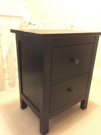 FREE Black IKEA Bedside Table