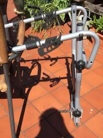 Tow ball 4 bike carrier, foldable
