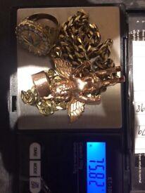 3 piece set GOLD / ROSE GOLD / 9CT