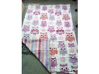 OWL QUILT COVER