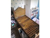 Single bed for sale. See photos.