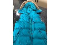 Mountain warehouse age 9-10 blue gilet