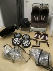 Valco triple pushchair buggy in excellent condition