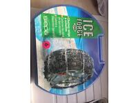 Ice force snow chains new never used