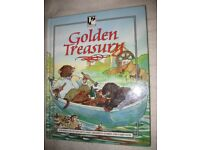 Golden Treasury Hardback Book In Quality Full Colour Artwork: Classic Children's Stories/ Fairytales