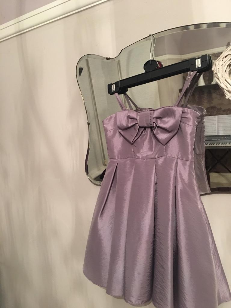 AGE 7 PURPLE/LILAL BRIDESMAID DRESS