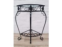 Vintage Decorative Two Tier Table (DELIVERY AVAILABLE FOR THIS ITEM OF FURNITURE)