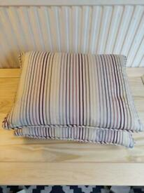 Two scatter cushion