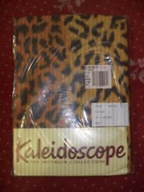 New bed linen for double bed in Leopard Print design (2 sets)