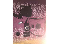 Canon EOS 60D DSLR Camera + 18-200mm Lens + carry bag + all accessories + boxed + lens cap + remote
