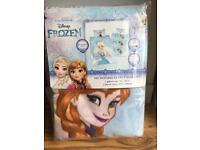 Disney frozen fleece bedding new